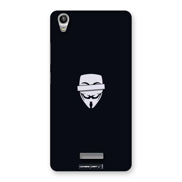Anonymous Mask Back Case for Lava Pixel V1