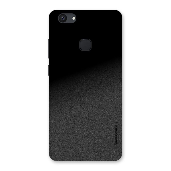 Black Grey Noise Fusion Back Case for Vivo V7 Plus
