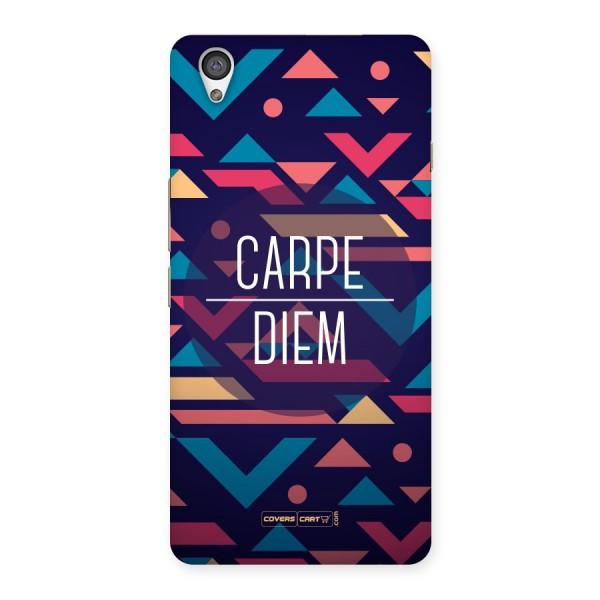 Carpe Diem Back Case for Oneplus X