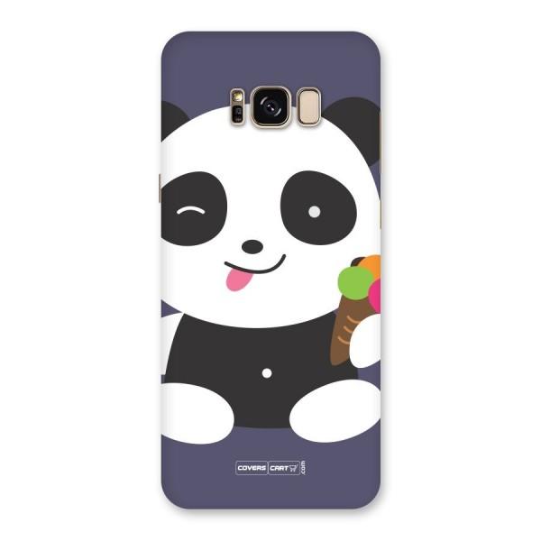 Cute Panda Blue Back Case for Galaxy S8 Plus
