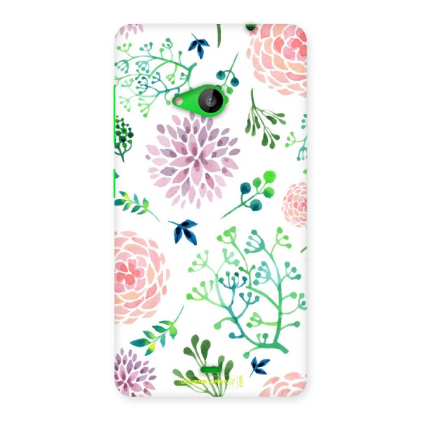 Fresh Floral Back Case for Lumia 535
