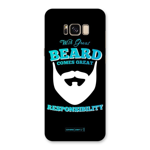 Great Beard Back Case for Galaxy S8 Plus
