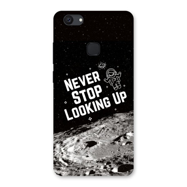 Never Stop Looking Up Back Case for Vivo V7 Plus