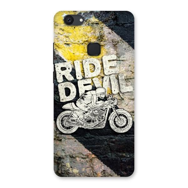 Ride Devil Back Case for Vivo V7 Plus