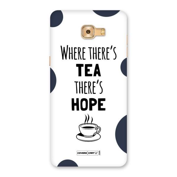 Tea Hope Back Case for Galaxy C9 Pro