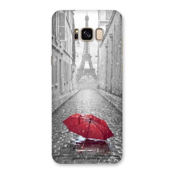 Umbrella Paris Back Case for Galaxy S8 Plus
