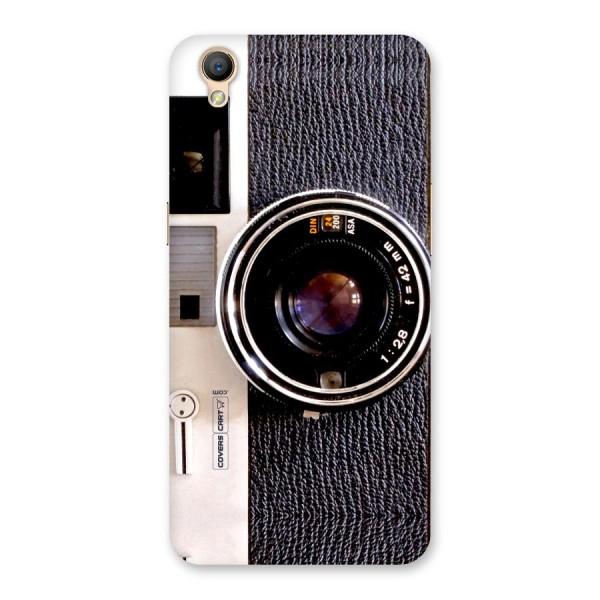 Vintage Camera Back Case for Oppo A37