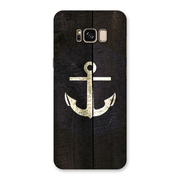 Wood Anchor Back Case for Galaxy S8 Plus