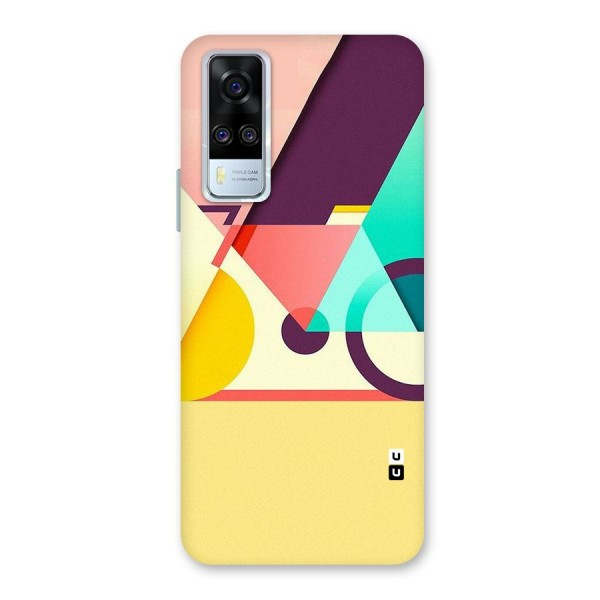 Abstract Cycle Back Case for Vivo Y51A
