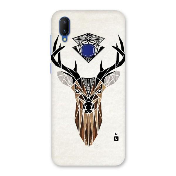 Aesthetic Deer Design Back Case for Vivo V11