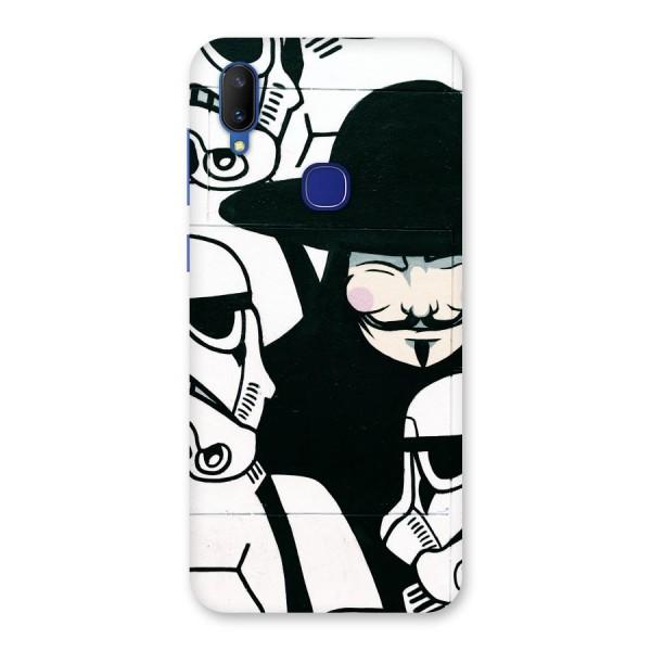 Anonymous Hat Back Case for Vivo V11