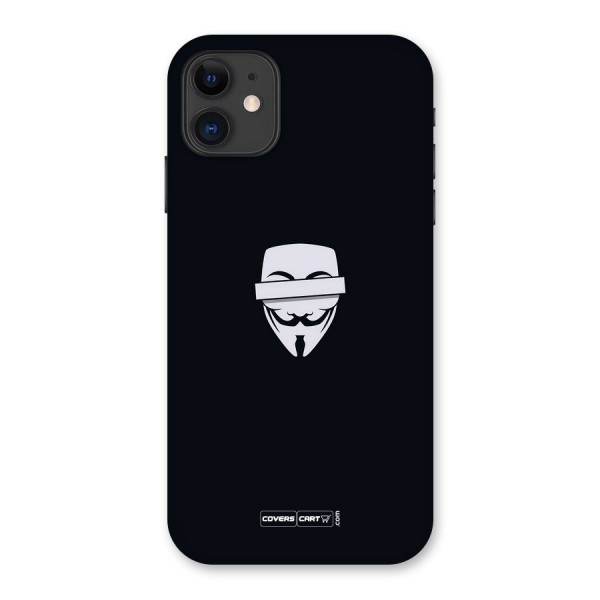 Anonymous Mask Back Case for iPhone 11