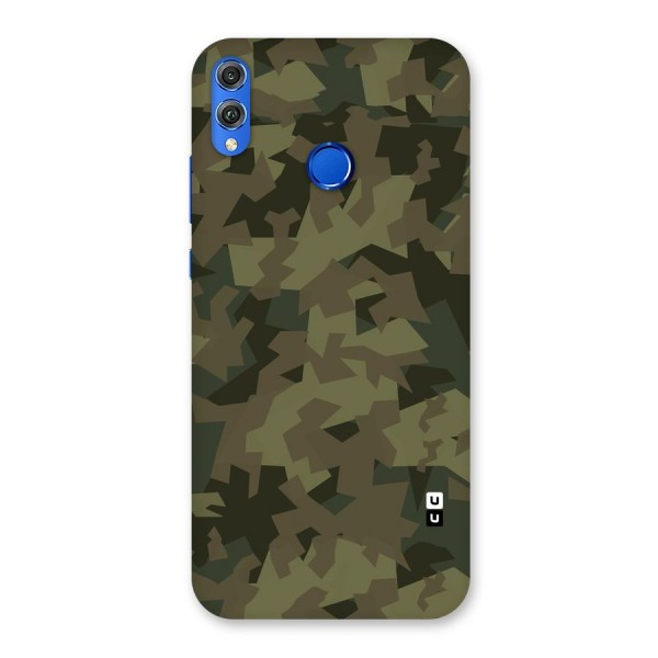 Army Abstract Back Case for Honor 8X