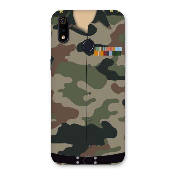Army Uniform Back Case for Realme 3i