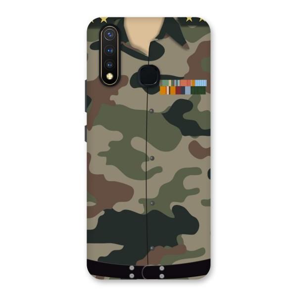 Army Uniform Back Case for Vivo U20