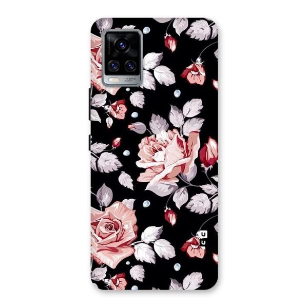 Artsy Floral Back Case for Vivo V20 Pro