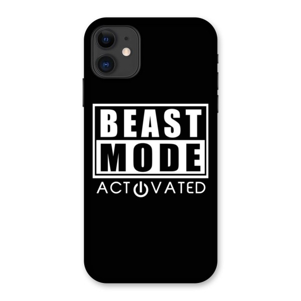 Beast Mode Activated Back Case for iPhone 11