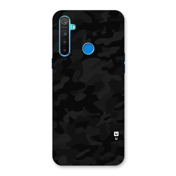 Black Camouflage Back Case for Realme 5