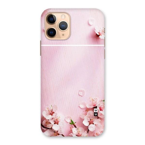 Blossom Frame Pink Back Case for iPhone 11 Pro