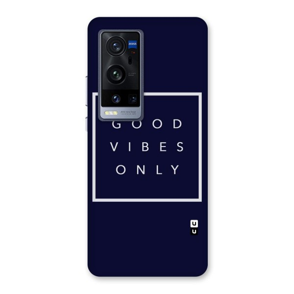 Blue White Vibes Back Case for Vivo X60 Pro Plus