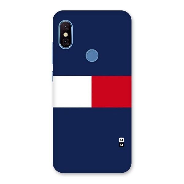 Bold Colours Back Case for Redmi Note 6 Pro