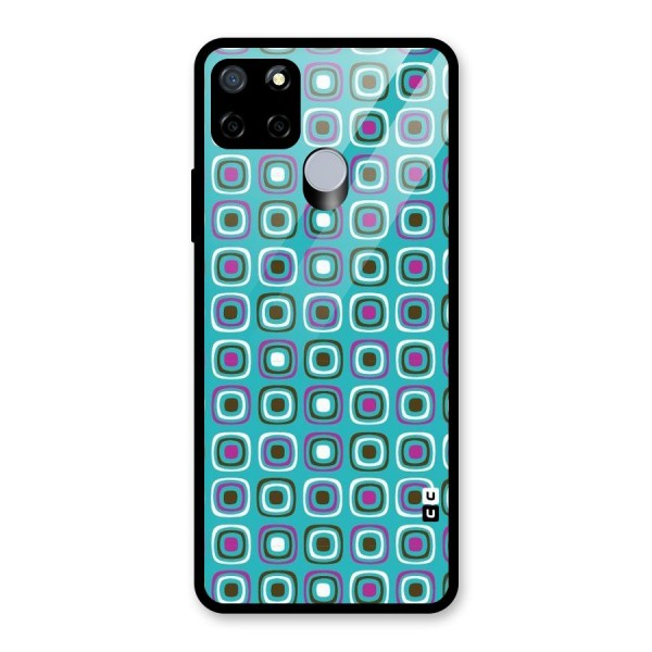 Boxes Tiny Pattern Glass Back Case for Realme C12