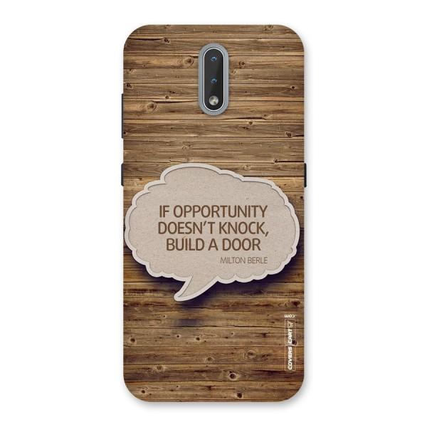 Build Your Door Back Case for Nokia 2.3