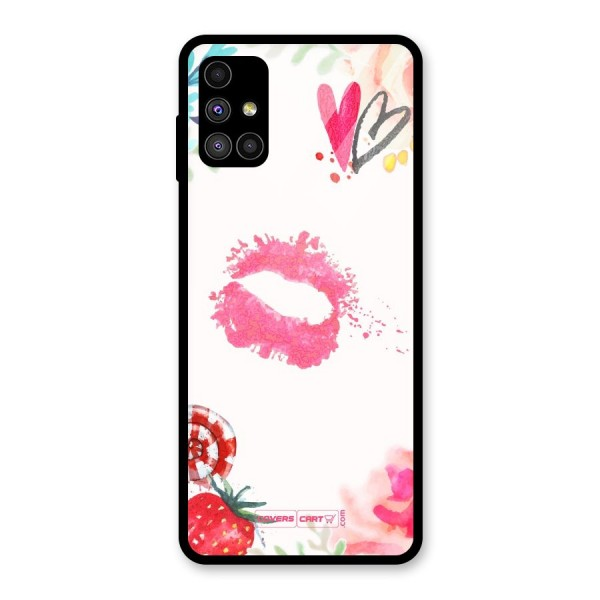 Chirpy Glass Back Case for Galaxy M51