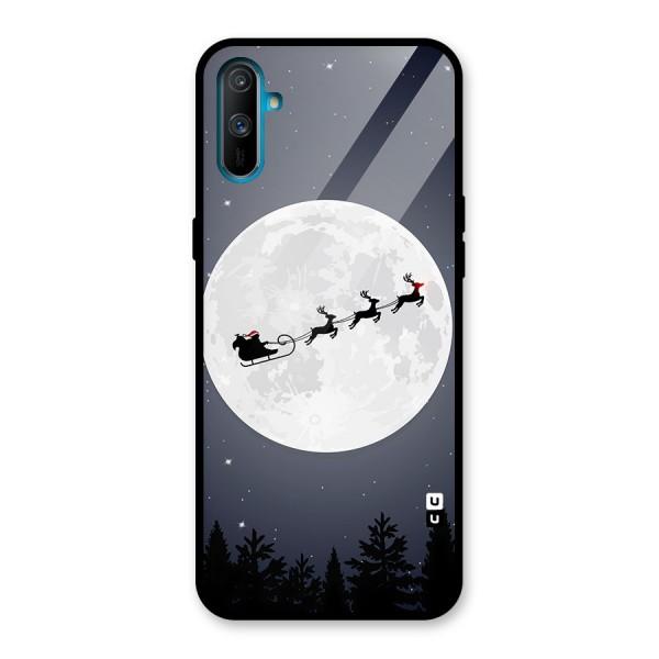 Christmas Nightsky Glass Back Case for Realme C3