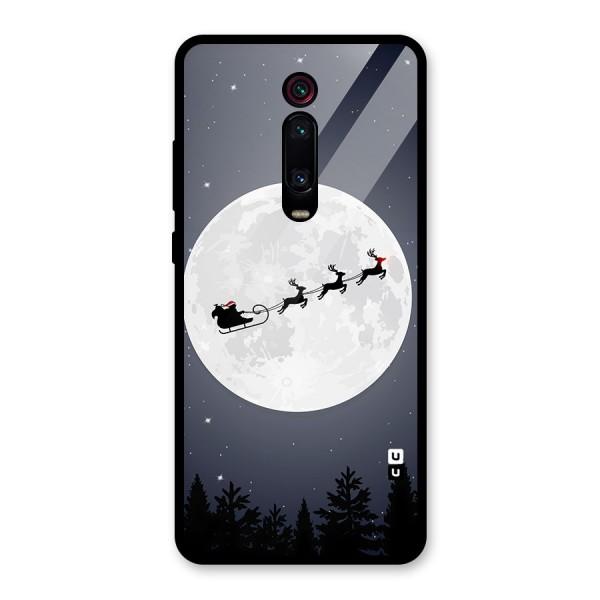 Christmas Nightsky Glass Back Case for Redmi K20 Pro