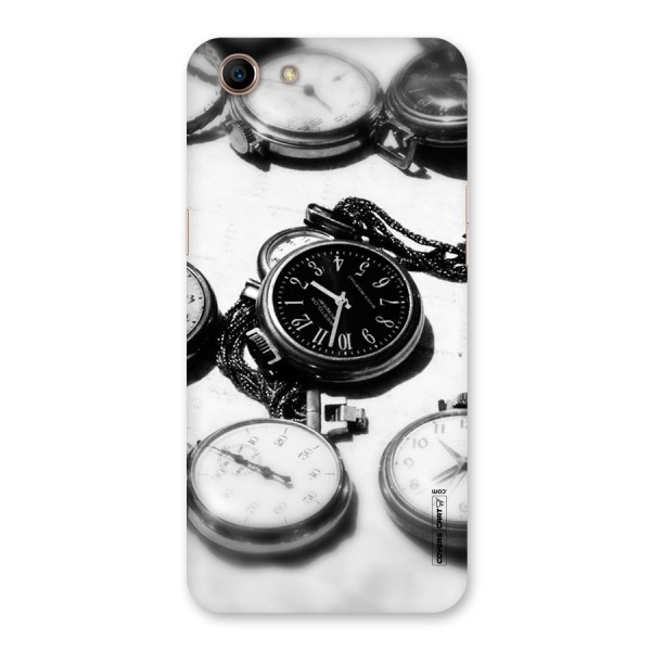 Clock Collection Back Case for Oppo A83 (2018)