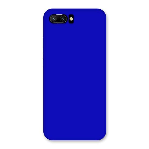 Cobalt Blue Back Case for Honor 10