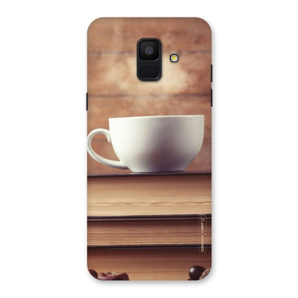 Coffee And Bookworm Back Case for Galaxy A6 (2018)