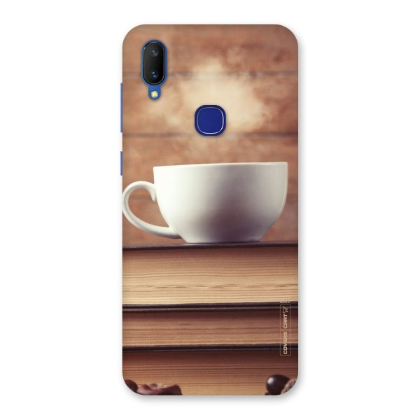 Coffee And Bookworm Back Case for Vivo V11