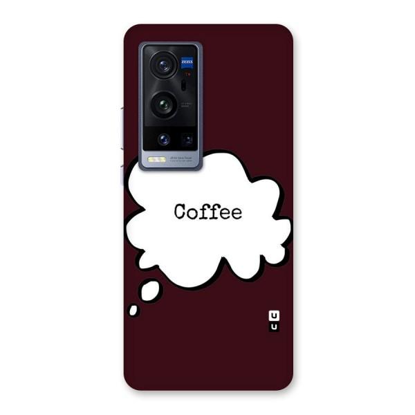 Coffee Bubble Back Case for Vivo X60 Pro Plus