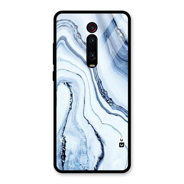 Cool Marble Art Glass Back Case for Redmi K20 Pro