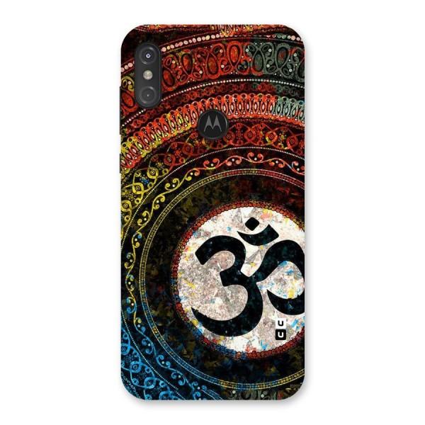 Culture Om Design Back Case for Motorola One Power