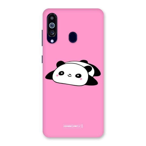 Cute Lazy Panda Back Case for Galaxy A60