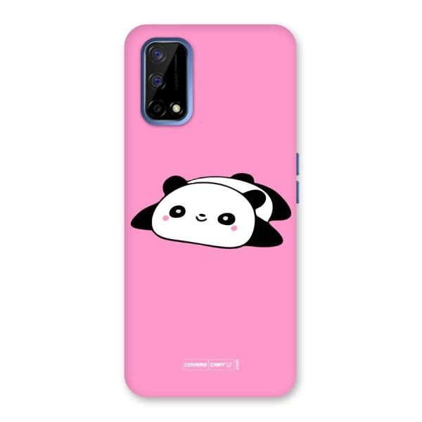 Cute Lazy Panda Back Case for Realme Narzo 30 Pro