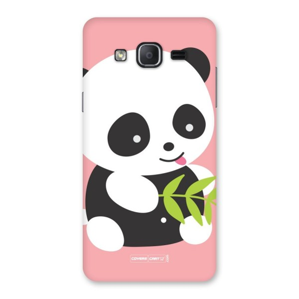 Cute Panda Pink Back Case for Galaxy On7 Pro