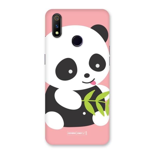 Cute Panda Pink Back Case for Realme 3 Pro