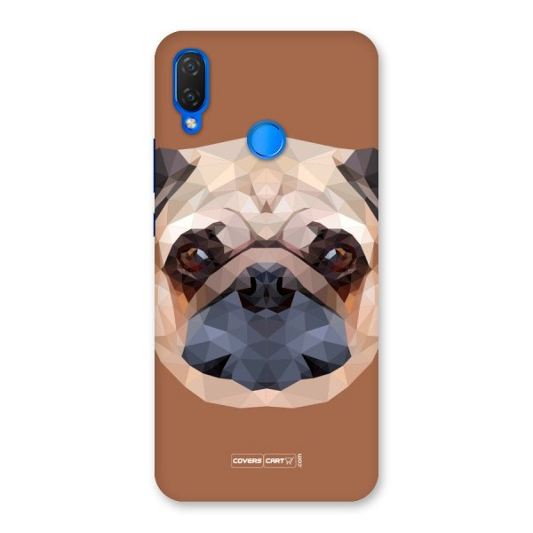 Cute Pug Back Case for Huawei P Smart+