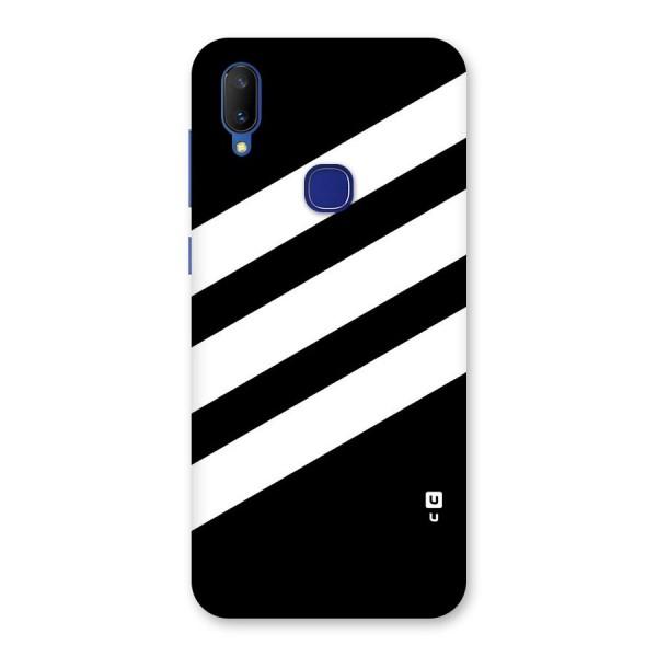 Diagonal Classic Stripes Back Case for Vivo V11