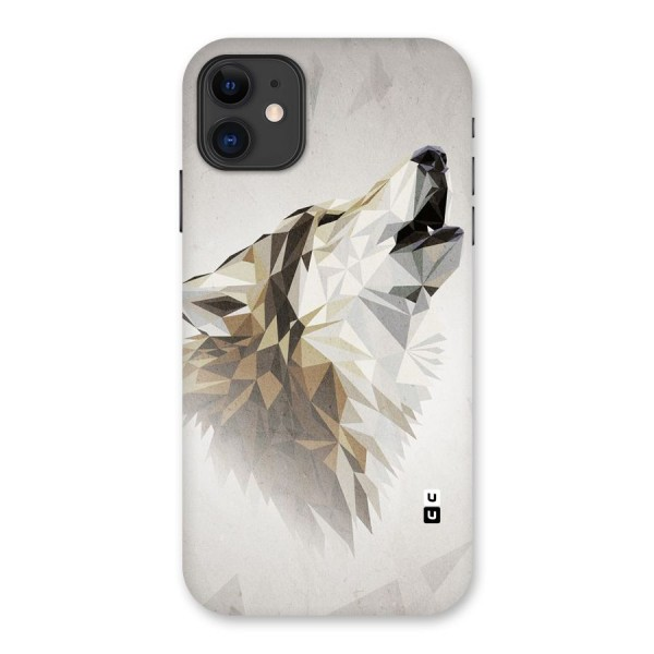 Diamond Wolf Back Case for iPhone 11