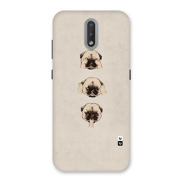 Doggo Moods Back Case for Nokia 2.3