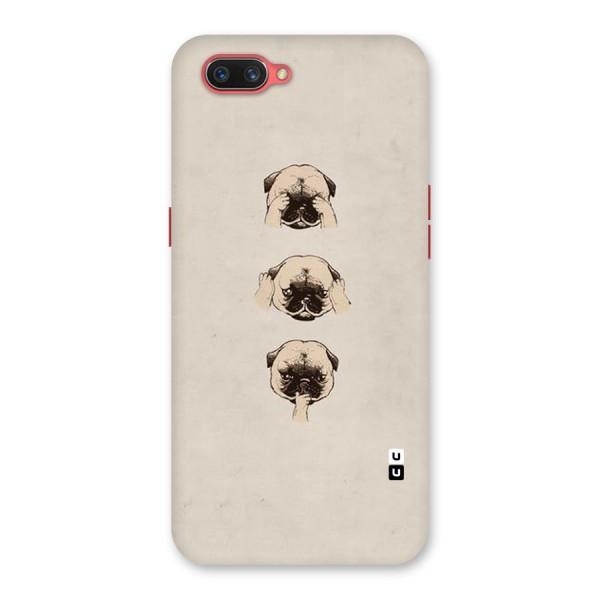 Doggo Moods Back Case for Oppo A3s