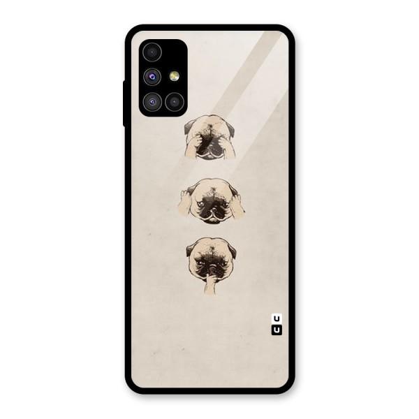 Doggo Moods Glass Back Case for Galaxy M51