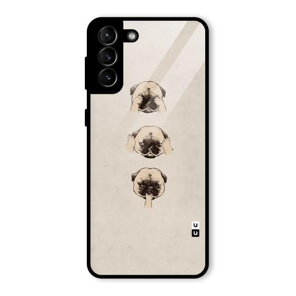 Doggo Moods Glass Back Case for Galaxy S21 Plus