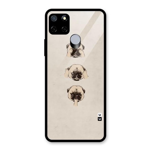 Doggo Moods Glass Back Case for Realme C12