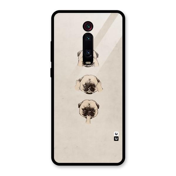 Doggo Moods Glass Back Case for Redmi K20 Pro